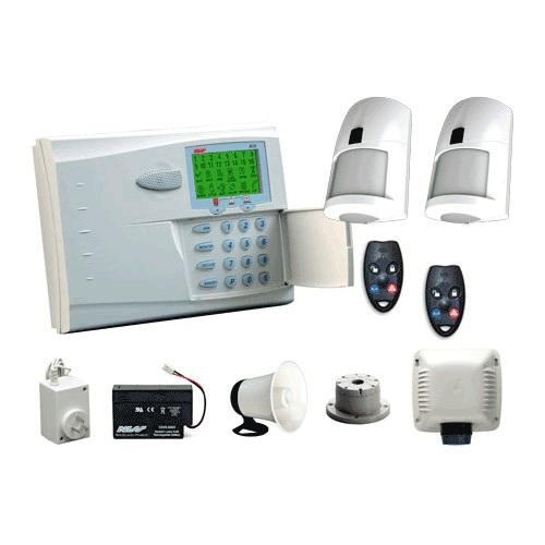 Security alarm newtech system cctv and surveillance equipment ness r16 wireless alarm kit incl pirs keys swarovskicordoba Images
